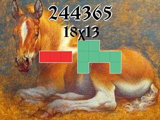 Puzzle polyomino №244365