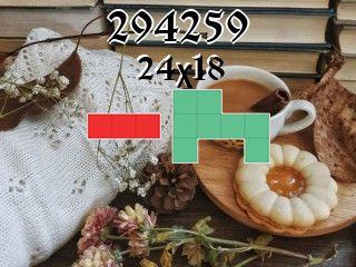 Puzzle polyomino №294259