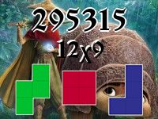 Puzzle polyomino №295315