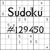 Sudoku №129450