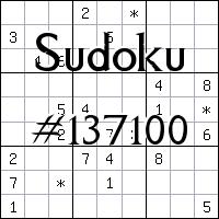Sudoku №137100