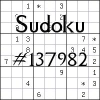 Sudoku №137982