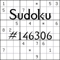Sudoku №146306