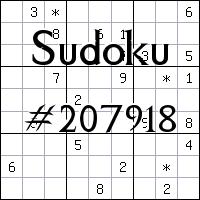 Sudoku №207918