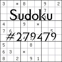 Sudoku №279479