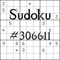 Sudoku №306611