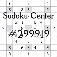 Centrum Sudoku №299919