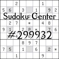 Centrum Sudoku №299932