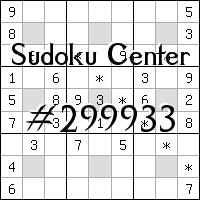 Centrum Sudoku №299933