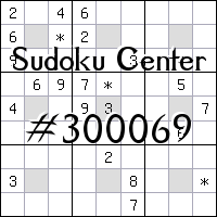 Centrum Sudoku №300069