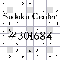 Centrum Sudoku №301684