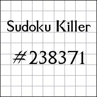 Zabójcze sudoku №238371