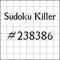 Zabójcze sudoku №238386