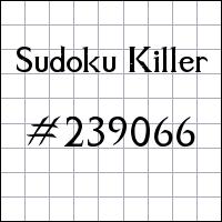 Zabójcze sudoku №239066