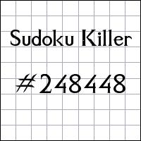 Zabójcze sudoku №248448