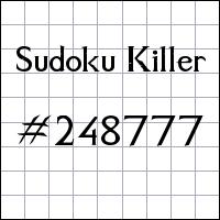 Zabójcze sudoku №248777