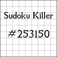 Zabójcze sudoku №253150