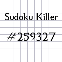 Zabójcze sudoku №259327