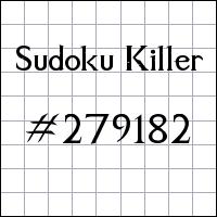 Zabójcze sudoku №279182