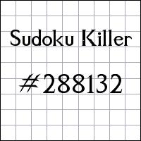 Zabójcze sudoku №288132