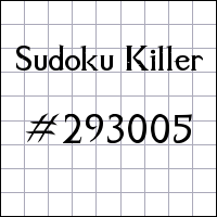Zabójcze sudoku №293005