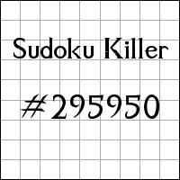 Zabójcze sudoku №295950