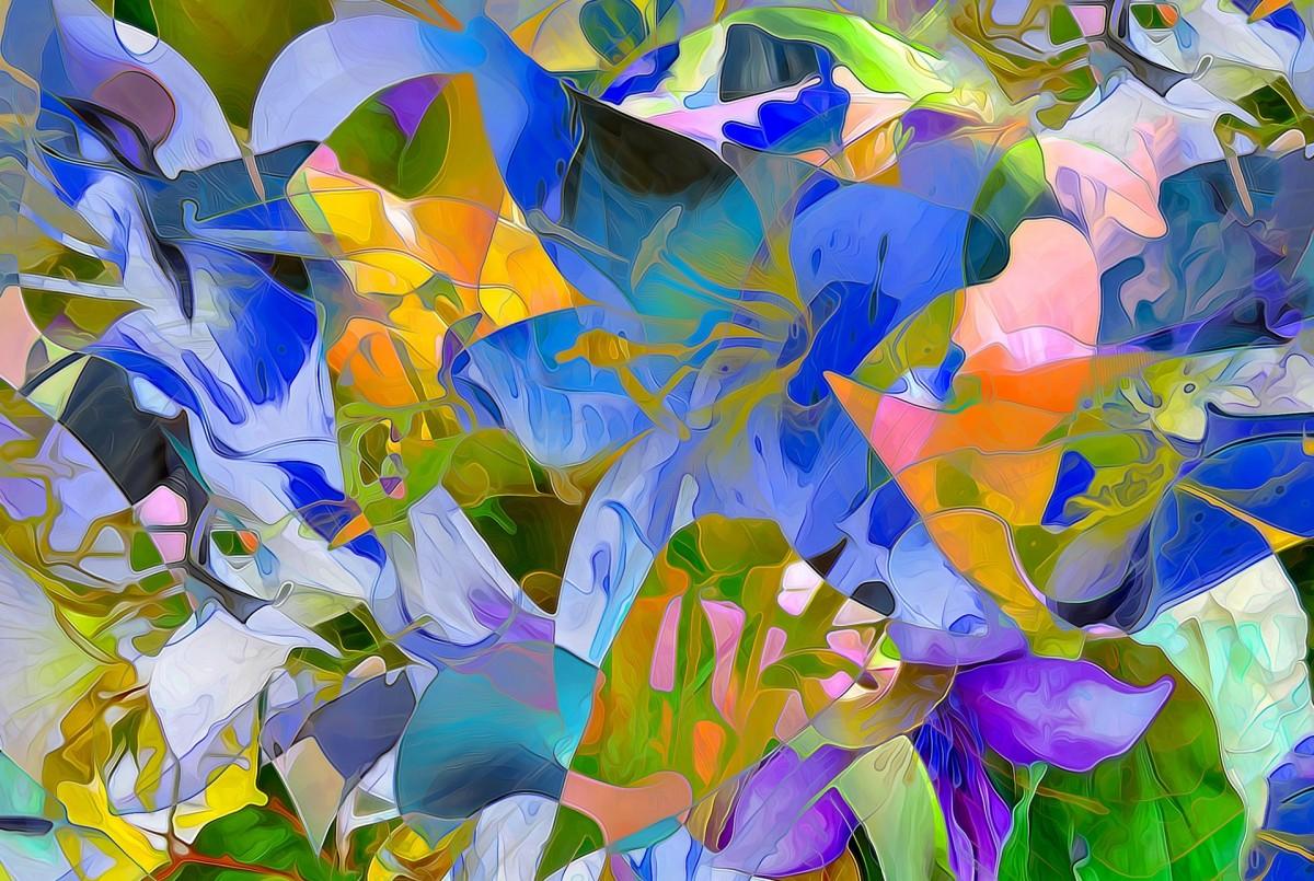Puzzle Zbierać puzzle online - Abstraktsiya