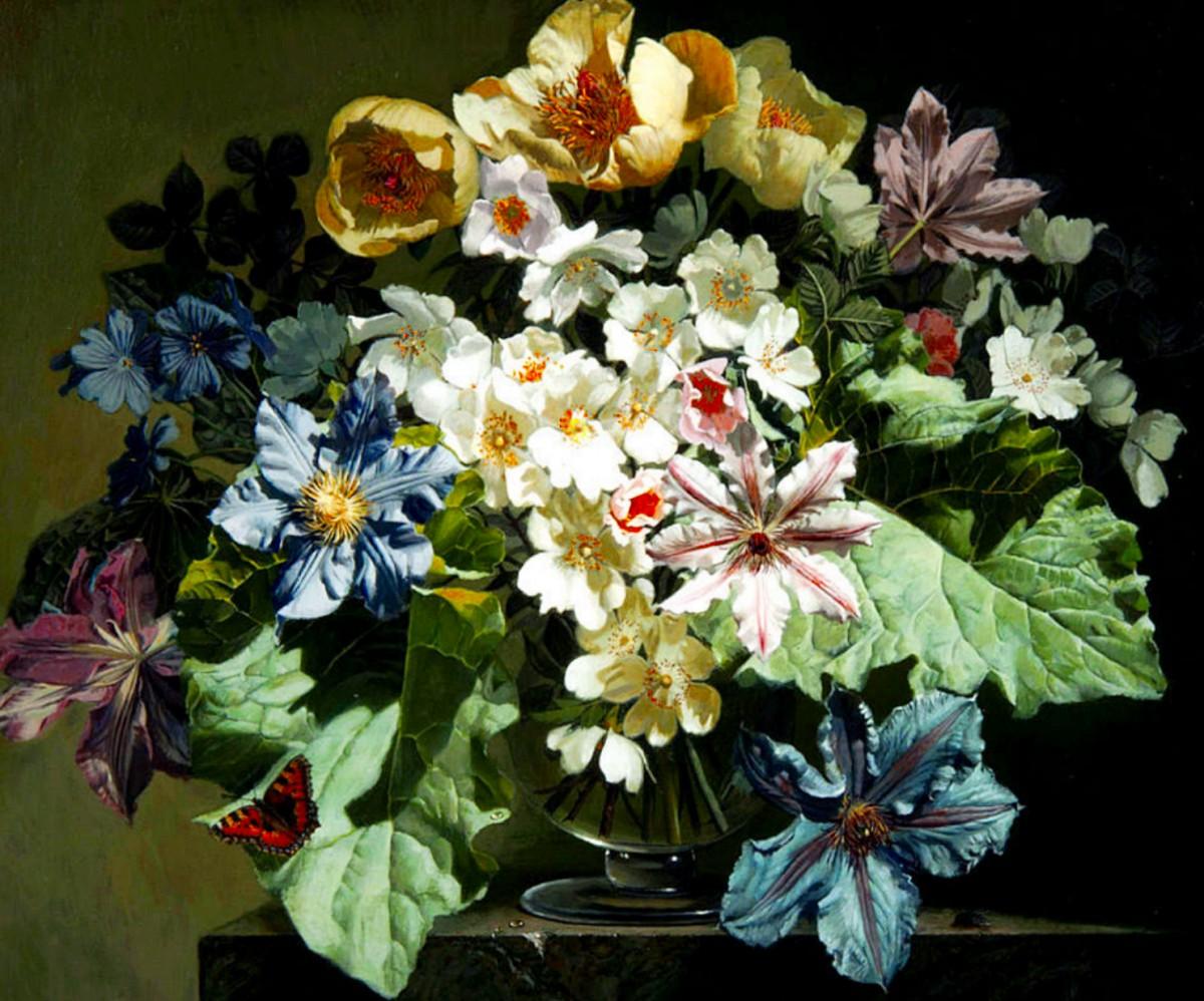 Puzzle Zbierać puzzle online - A large bouquet