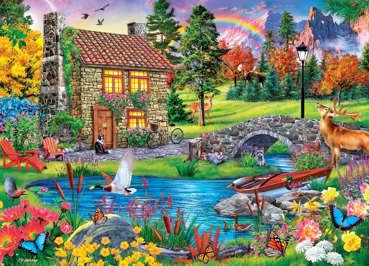 Puzzle Zbierać puzzle online - The house hunter