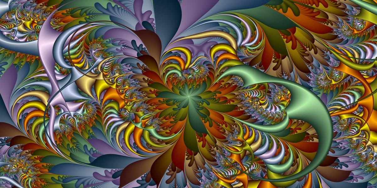 Puzzle Zbierać puzzle online - Fractal