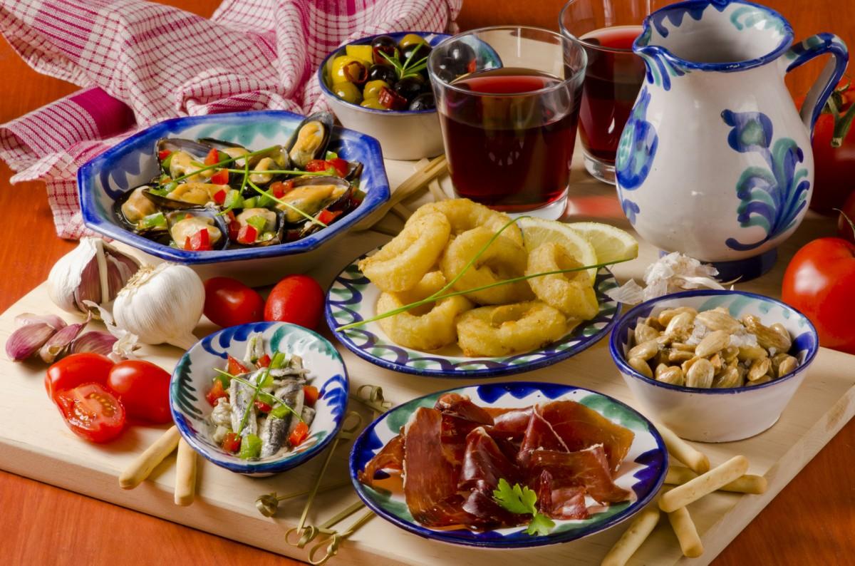 Puzzle Zbierać puzzle online - Spanish cuisine