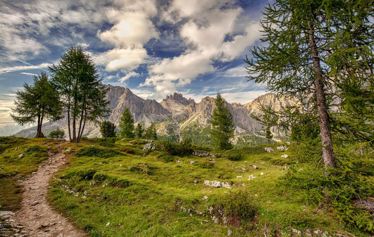 Puzzle Zbierać puzzle online - Italian mountains