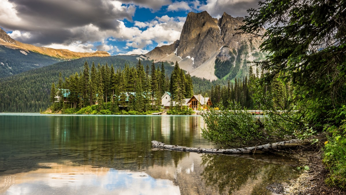Puzzle Zbierać puzzle online - Emerald lake