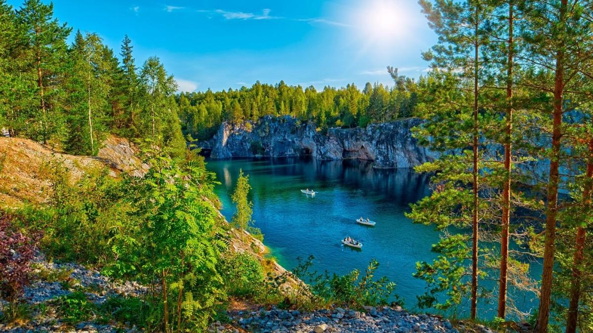 Puzzle Zbierać puzzle online - Karelia