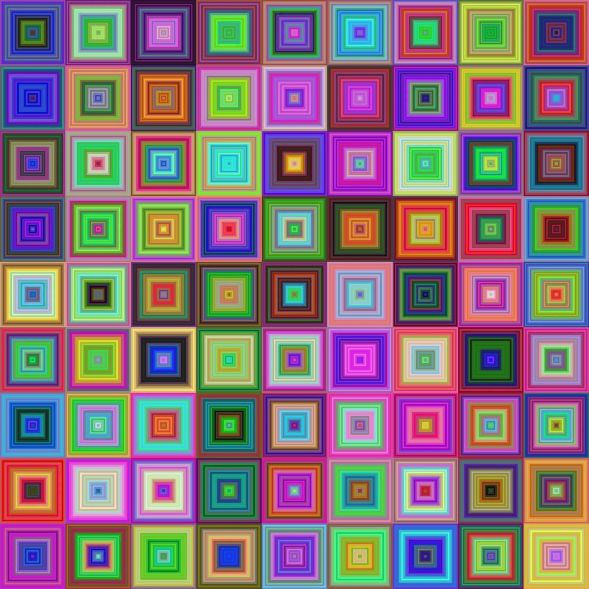 Puzzle Zbierać puzzle online - Squares