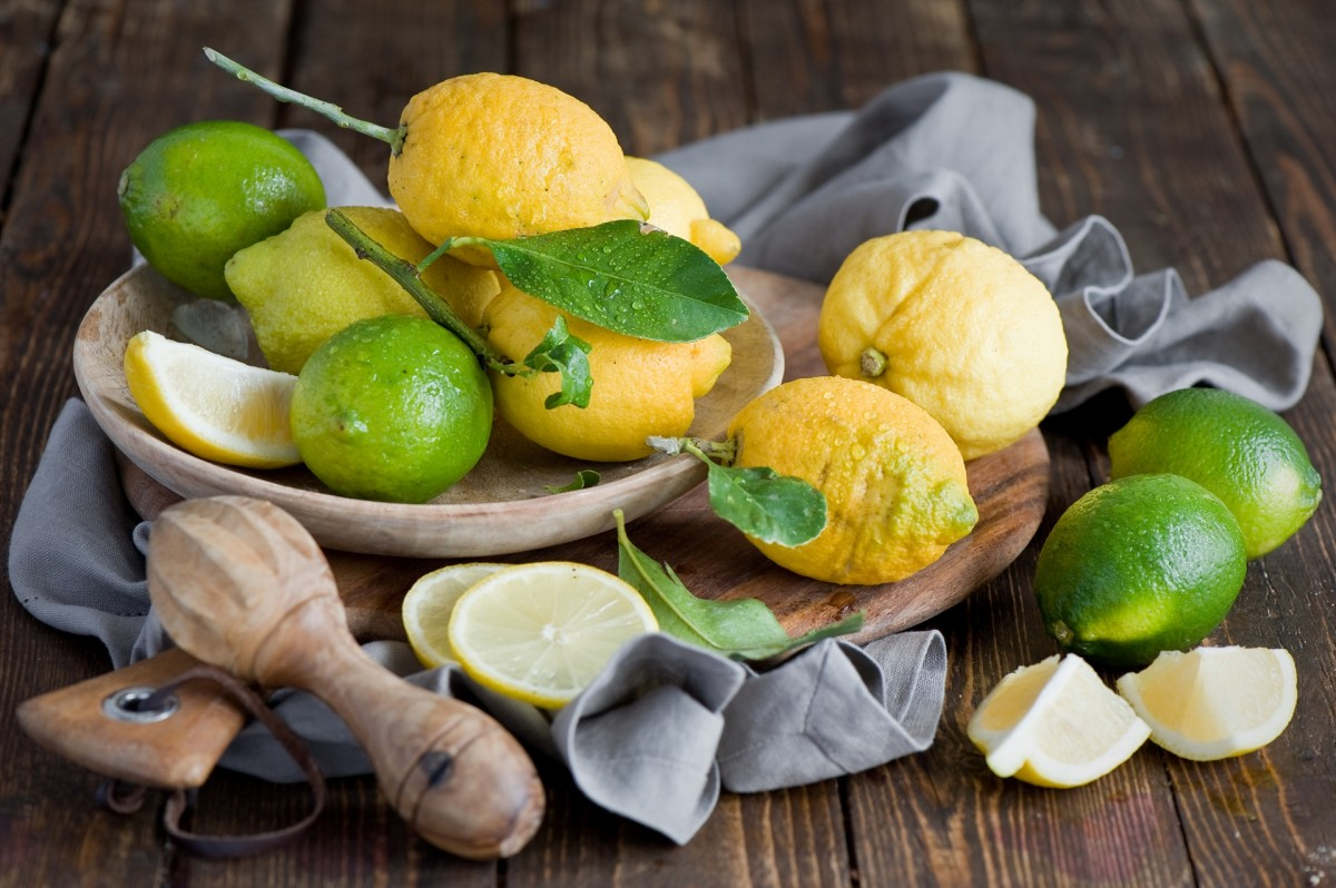 Puzzle Zbierać puzzle online - Lemons and limes