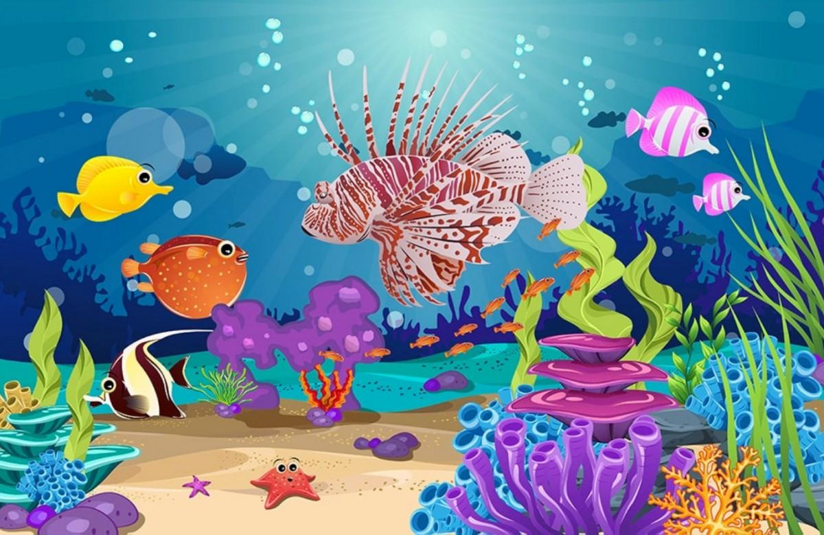 Puzzle Zbierać puzzle online - Marine fish