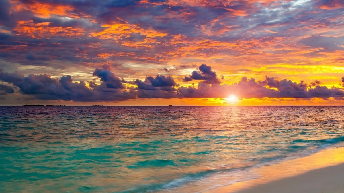 Puzzle Zbierać puzzle online - Sea horizon