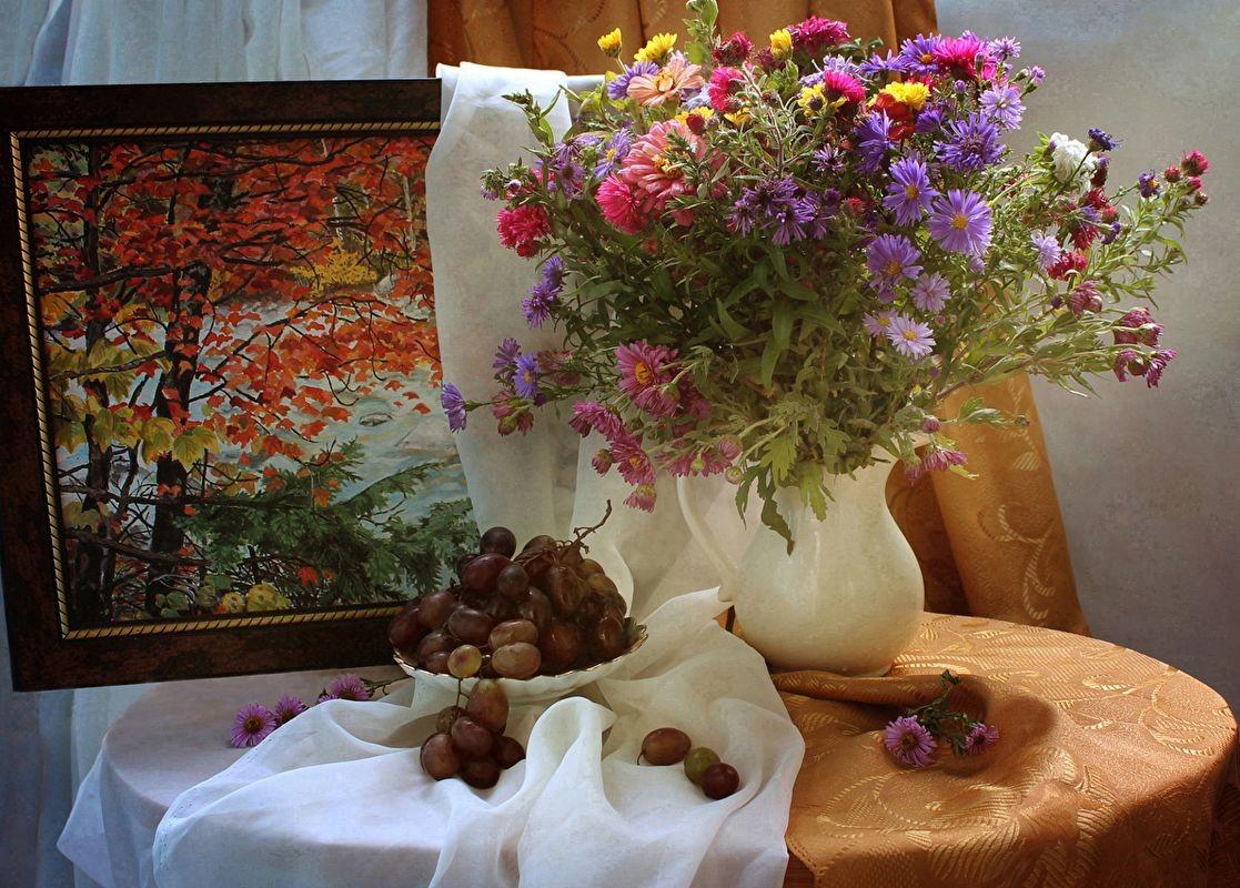 Puzzle Zbierać puzzle online - Still Life Autumn