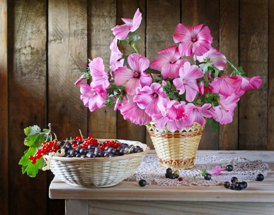 Puzzle Zbierać puzzle online - Still life with Mal