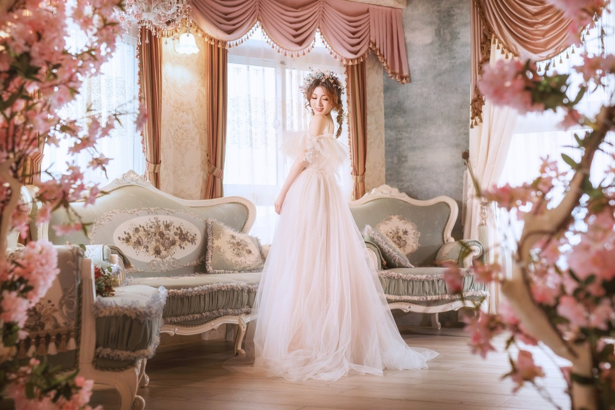 Puzzle Zbierać puzzle online - The bride