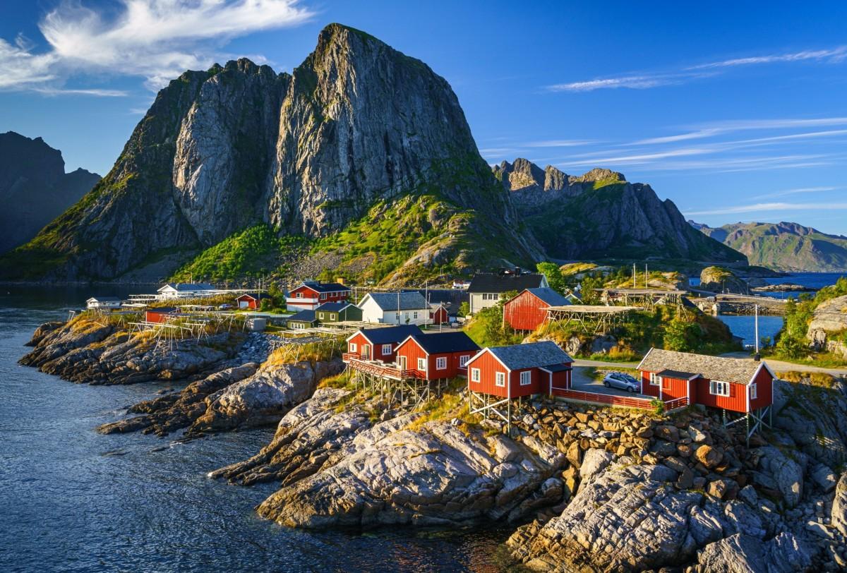 Puzzle Zbierać puzzle online - Norway