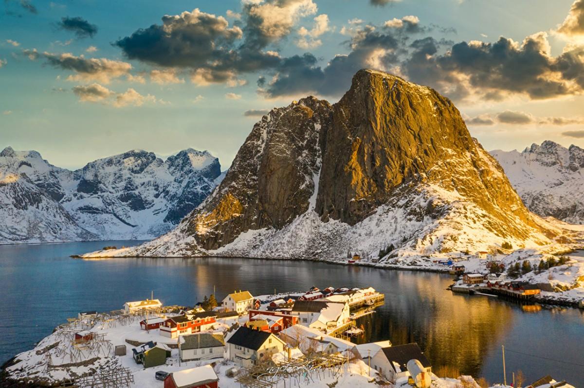Puzzle Zbierać puzzle online - Norwegian settlement