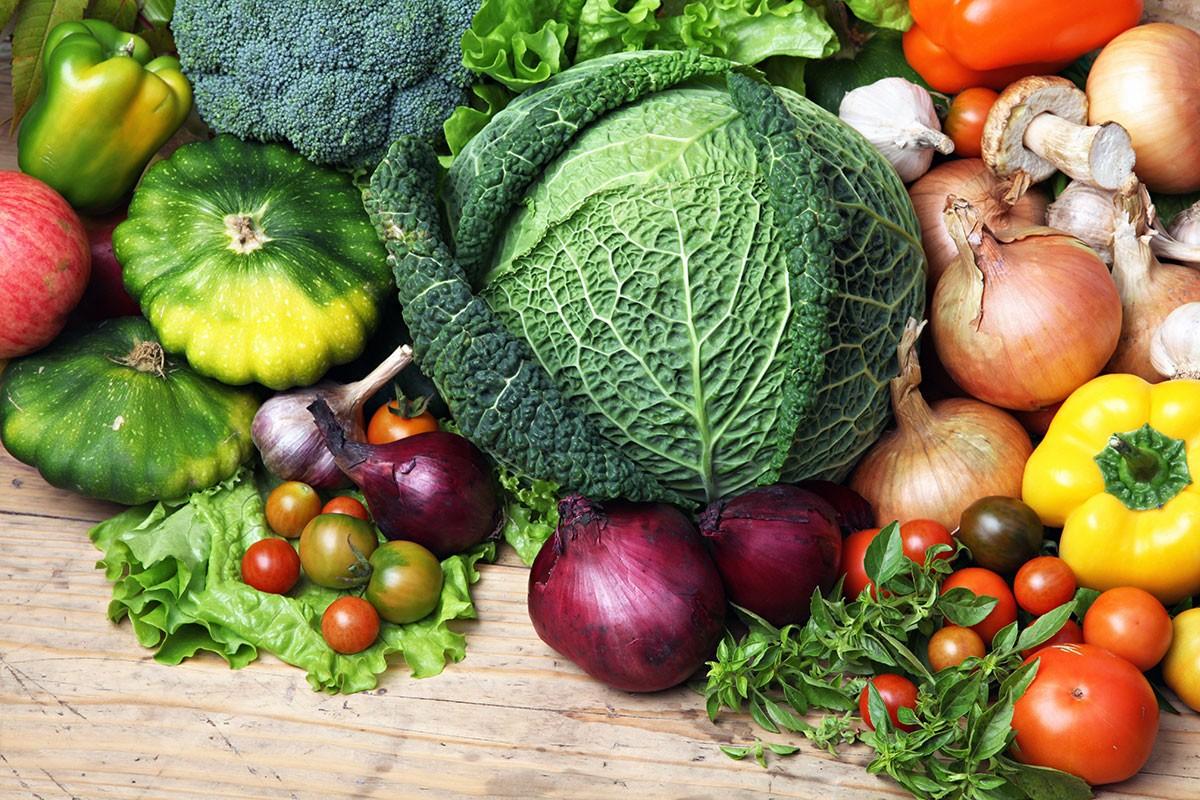 Puzzle Zbierać puzzle online - Vegetables