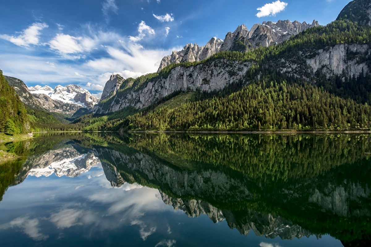 Puzzle Zbierać puzzle online - The lake in Austria