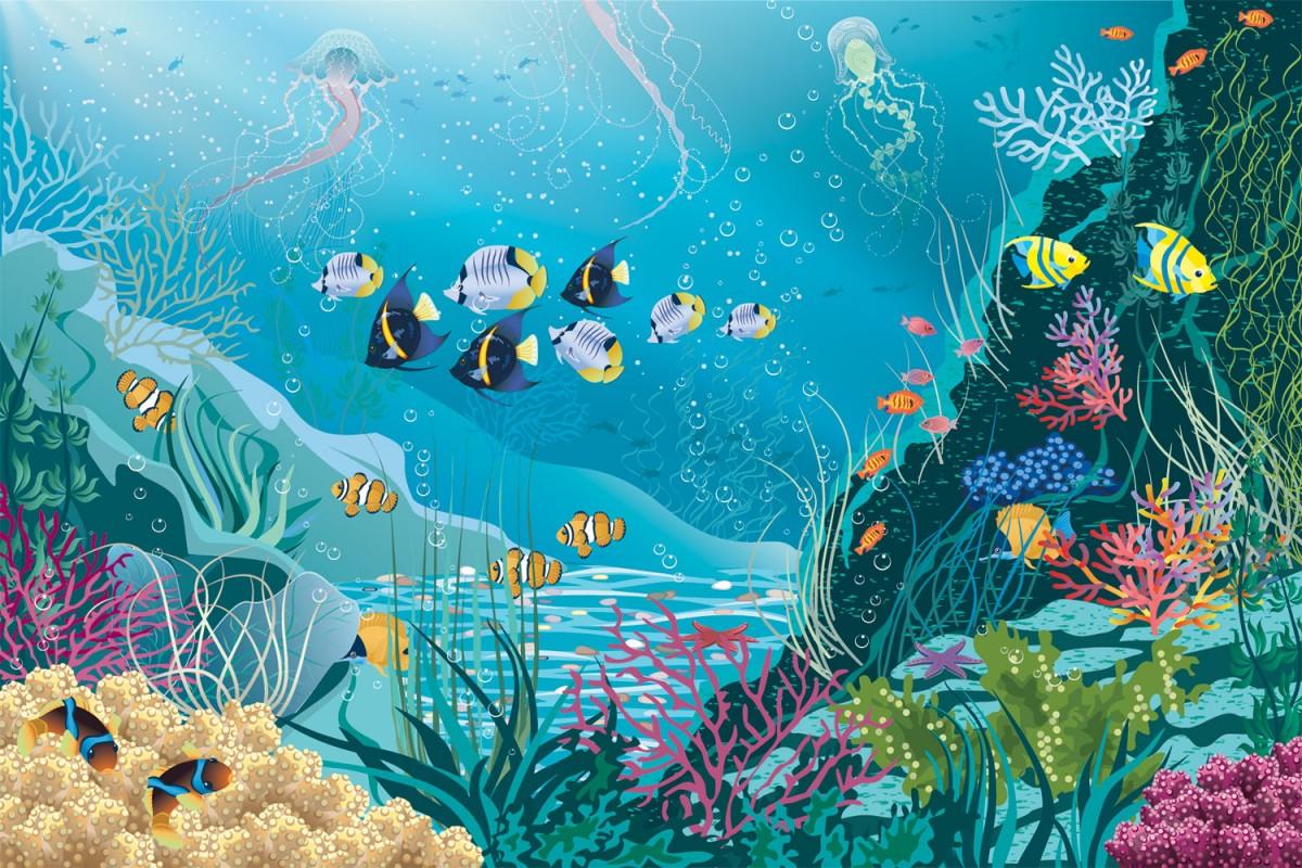 Puzzle Zbierać puzzle online - Underwater world