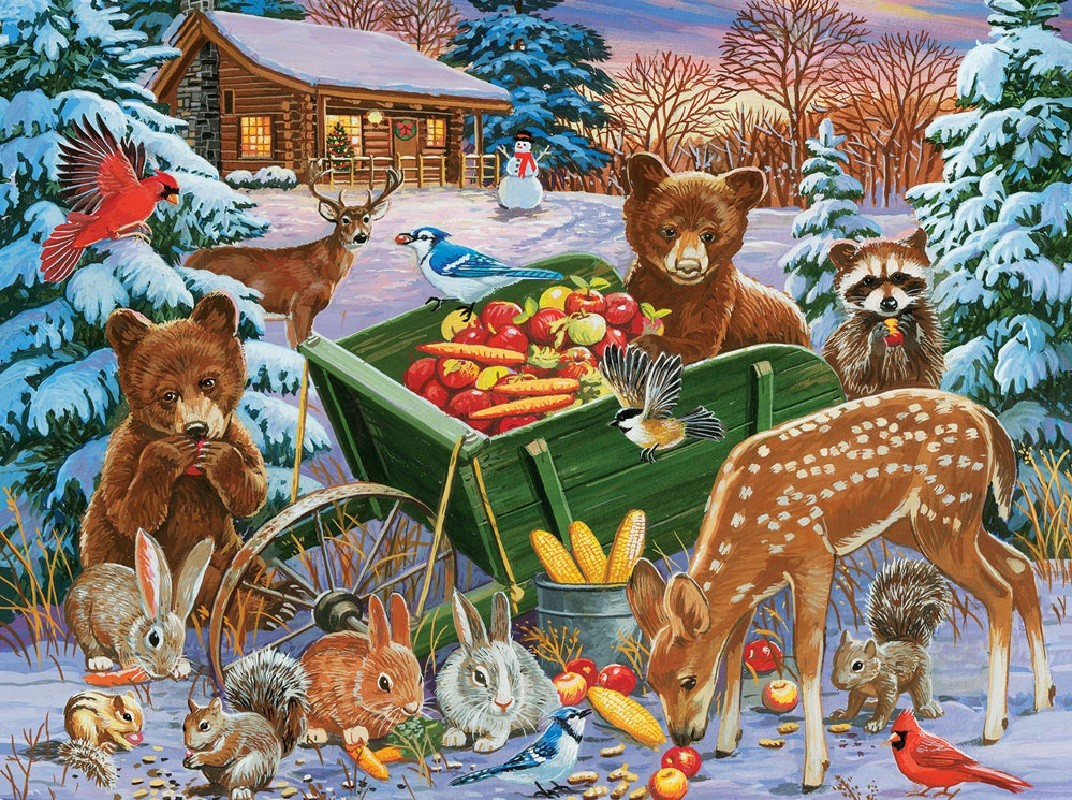 Puzzle Zbierać puzzle online - Holiday treats