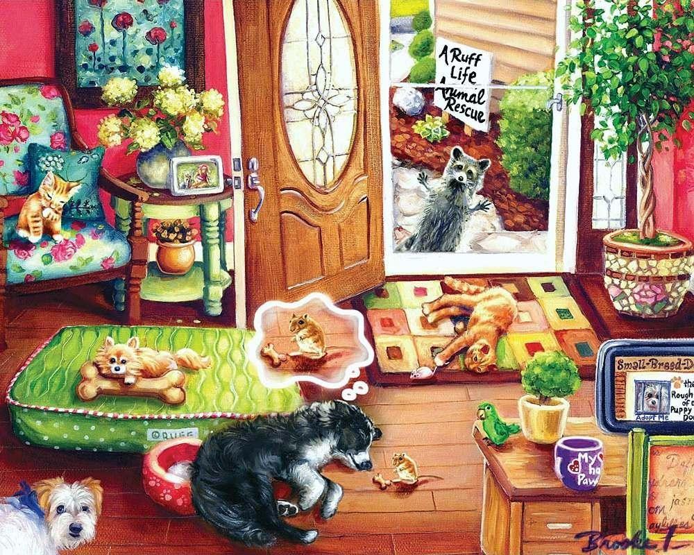 Puzzle Zbierać puzzle online - Pustite menya v priyut