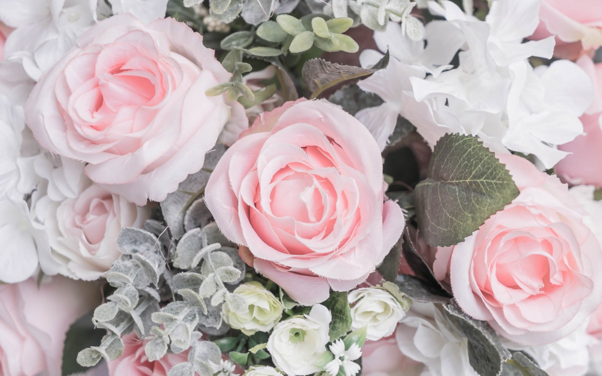 Puzzle Zbierać puzzle online - Pink roses