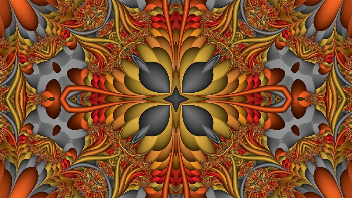 Puzzle Zbierać puzzle online - Symmetrical pattern